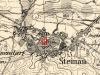 Lokalizacja pomnika poległych podczas I wojny w Głubczynie