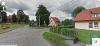 Głubczyn widok skrzyżowania koło szkoły w Google StreetView